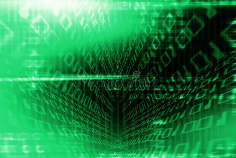 Túnel binario ilustración del vector