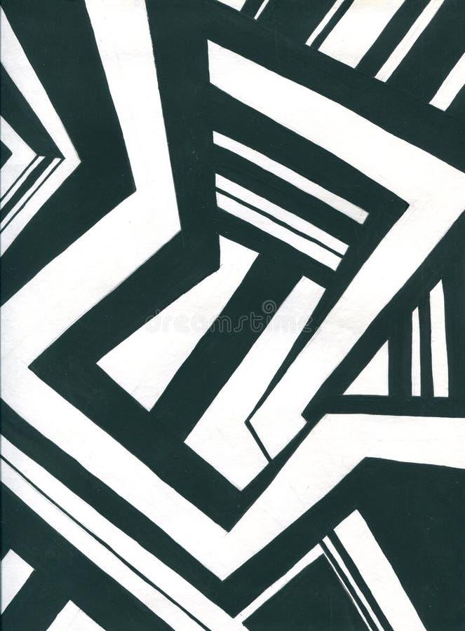Túnel colorido rombal o cuadrado infinito de llamaradas brillantes Sectores del túnel de la forma de los puntos que brillan inten ilustración del vector