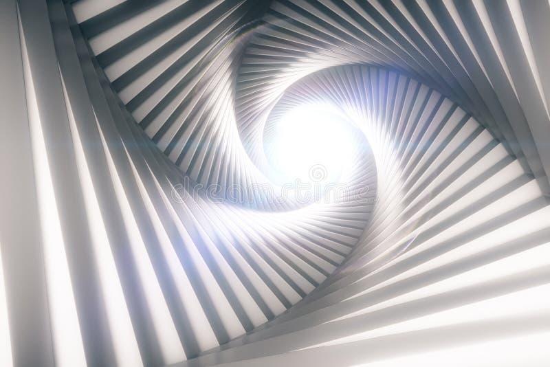 Túnel creativo ilustración del vector