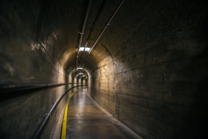 Túnel da barragem Hoover foto de stock royalty free