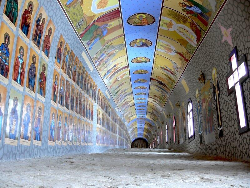 Túnel da igreja imagem de stock royalty free