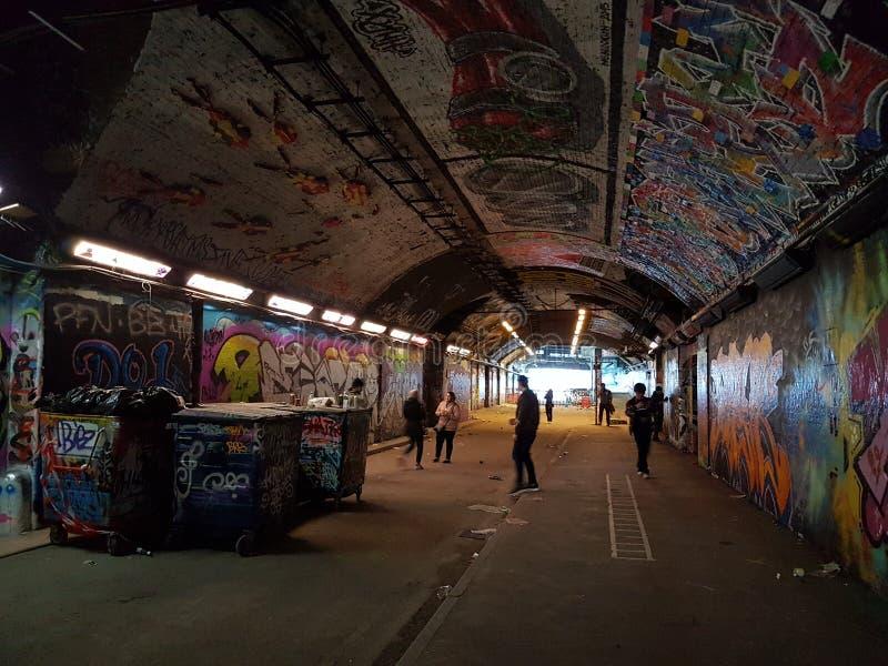 Túnel da rua de Leake imagens de stock royalty free