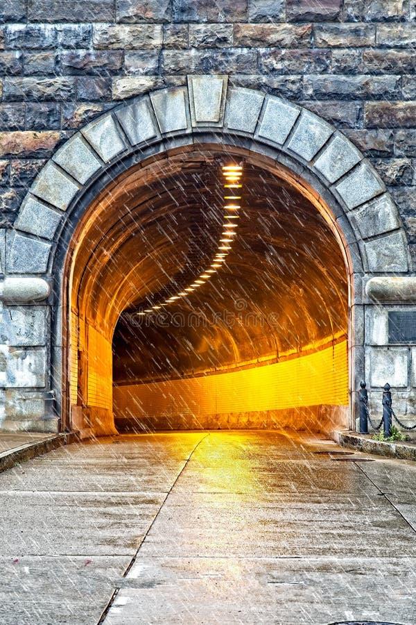 Túnel de Armstrong en Pittsburgh foto de archivo