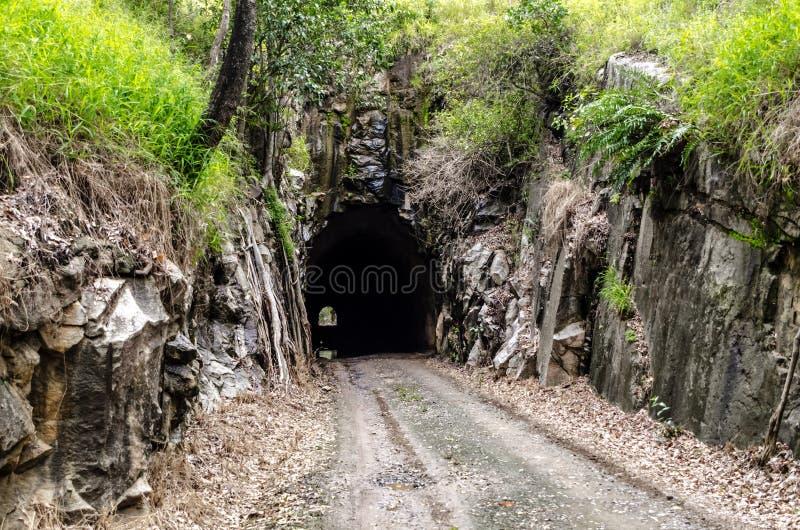 Túnel de Boolboonda, Queensland imagem de stock royalty free