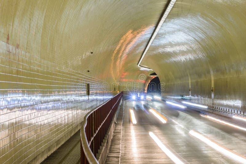 Túnel de Broadway da arrecadação de Robert C aka em San Francisco imagem de stock