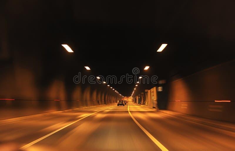 Túnel de la carretera foto de archivo libre de regalías