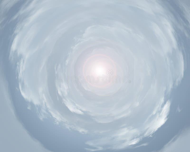 Túnel de la luz fotos de archivo libres de regalías