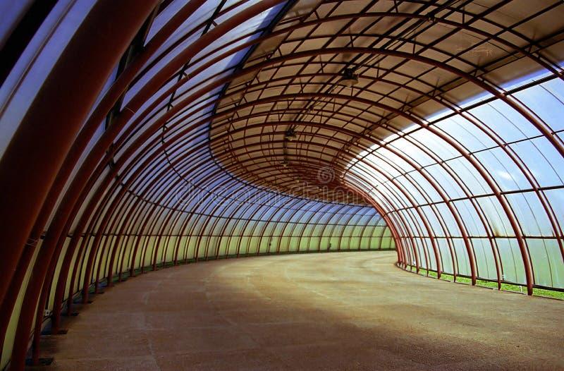 Túnel de las curvas foto de archivo libre de regalías