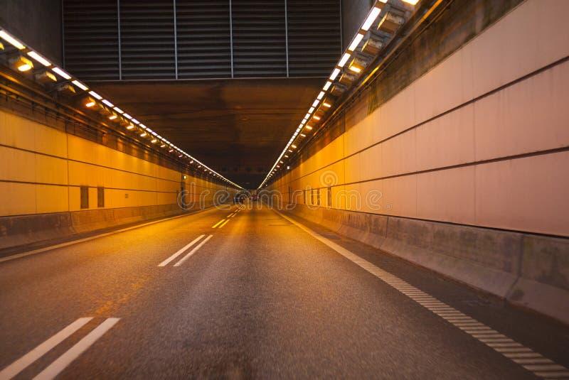 Túnel de Oresund fotografía de archivo libre de regalías