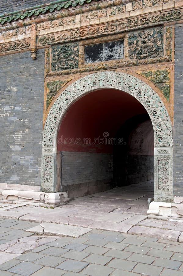 Túnel De Piedra Imagen de archivo libre de regalías