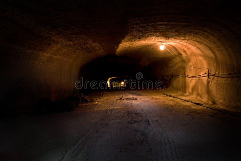 Túnel de Rizontal imagem de stock royalty free