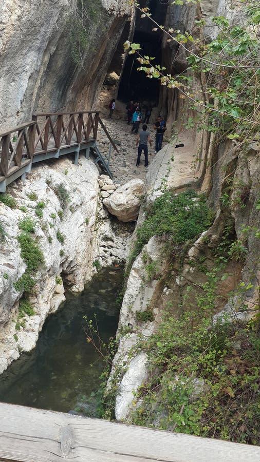 Túnel de Titus fotografía de archivo
