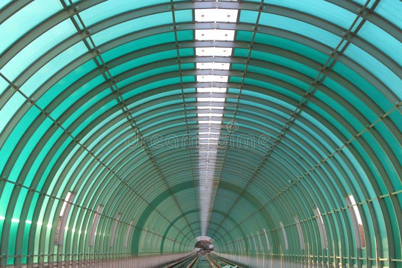 Túnel do metro fotografia de stock