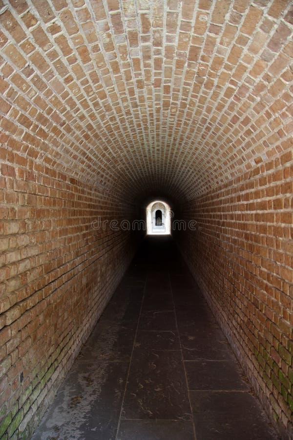 Túnel do rebitamento do forte imagem de stock royalty free