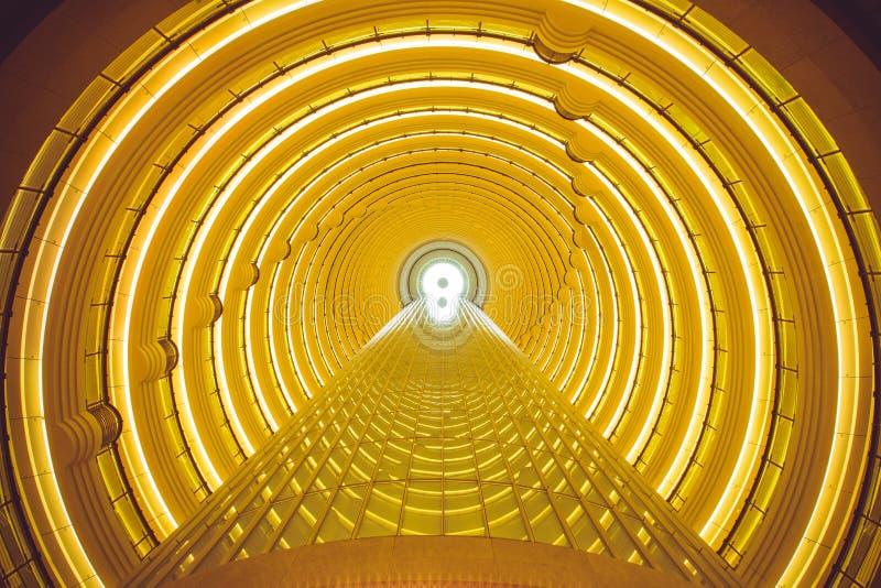 Túnel do tempo fotografia de stock royalty free
