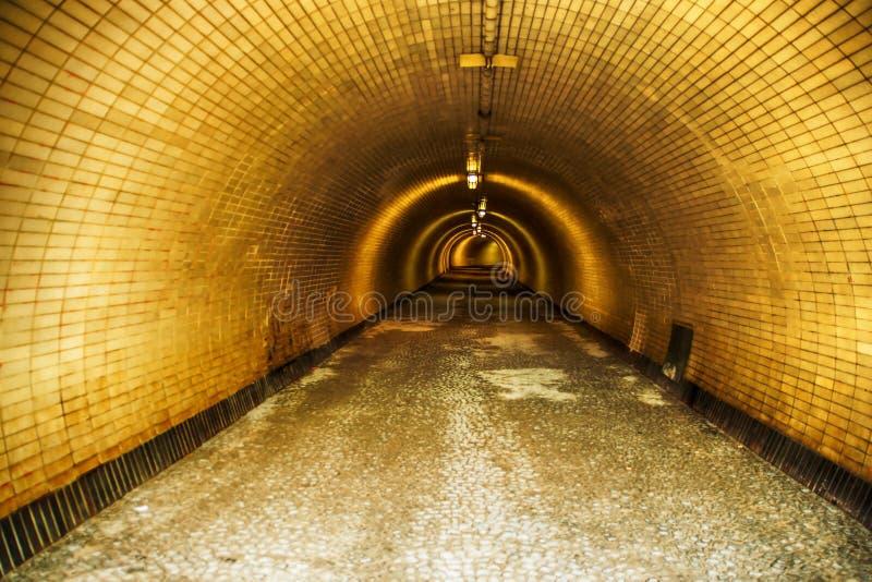 Túnel do tempo imagens de stock royalty free