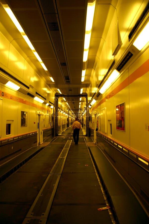 Túnel euro imagenes de archivo