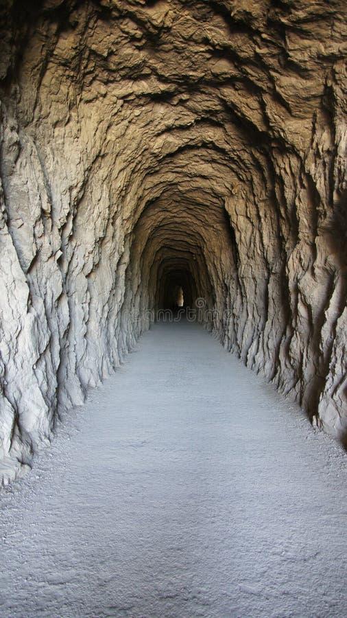 Túnel a Foz de Lumbier Canyon na Espanha imagens de stock
