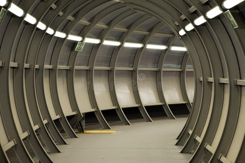 Túnel futurista imagens de stock royalty free