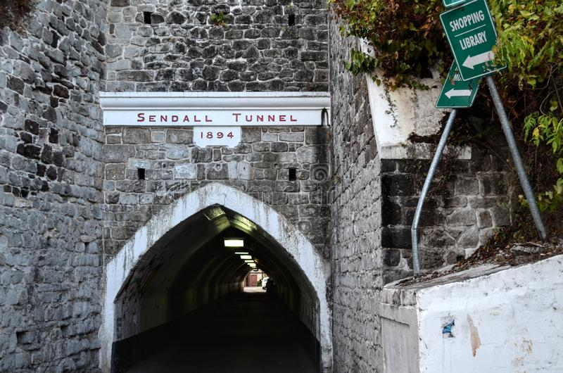 Túnel Granada de Sendall imagem de stock