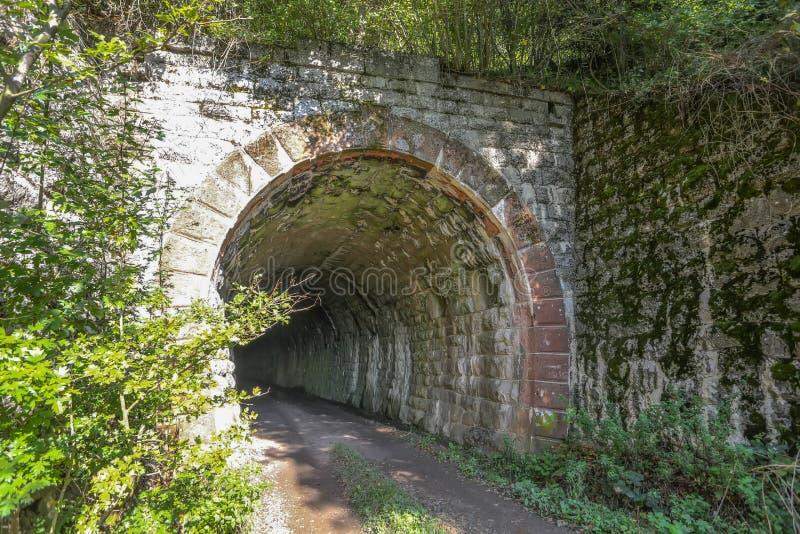 Túnel velho imagens de stock