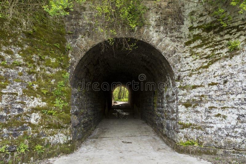 Túnel viejo imágenes de archivo libres de regalías
