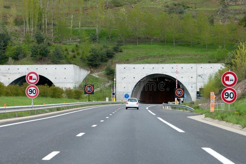 Túneles foto de archivo libre de regalías