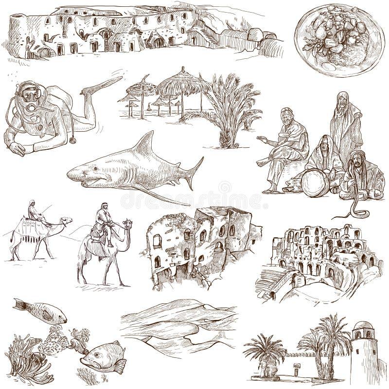 Túnez ilustración del vector
