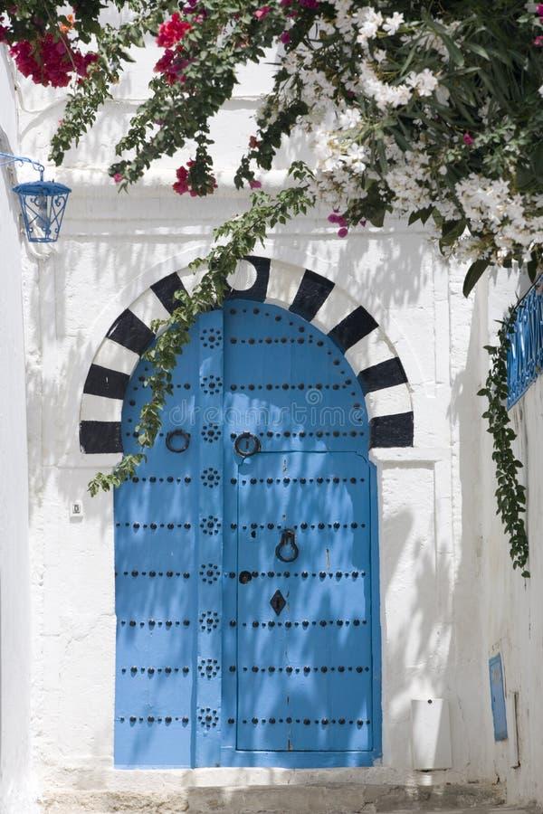 Túnez Sidi Bou dicho imágenes de archivo libres de regalías