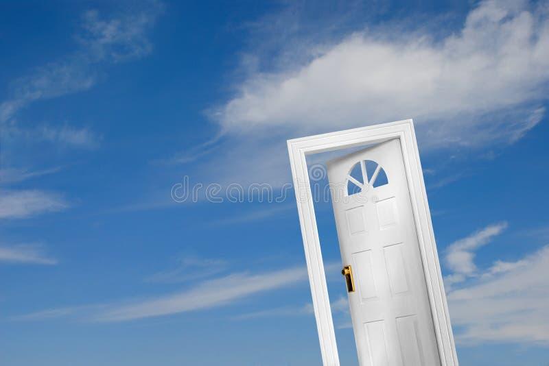Tür (2 von 5) lizenzfreie abbildung