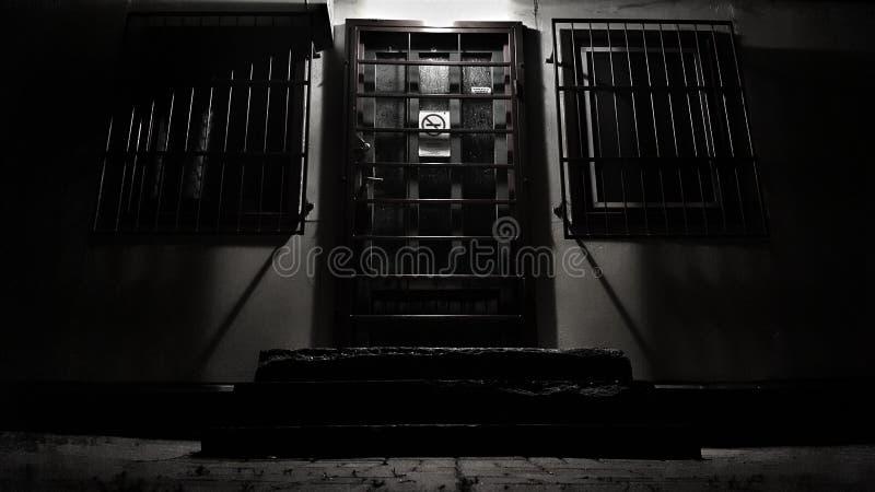 Tür der Hölle stockbild