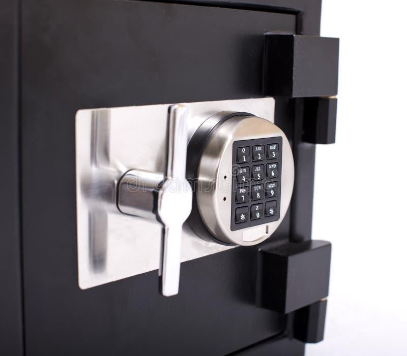 Tür des Safes lizenzfreies stockfoto
