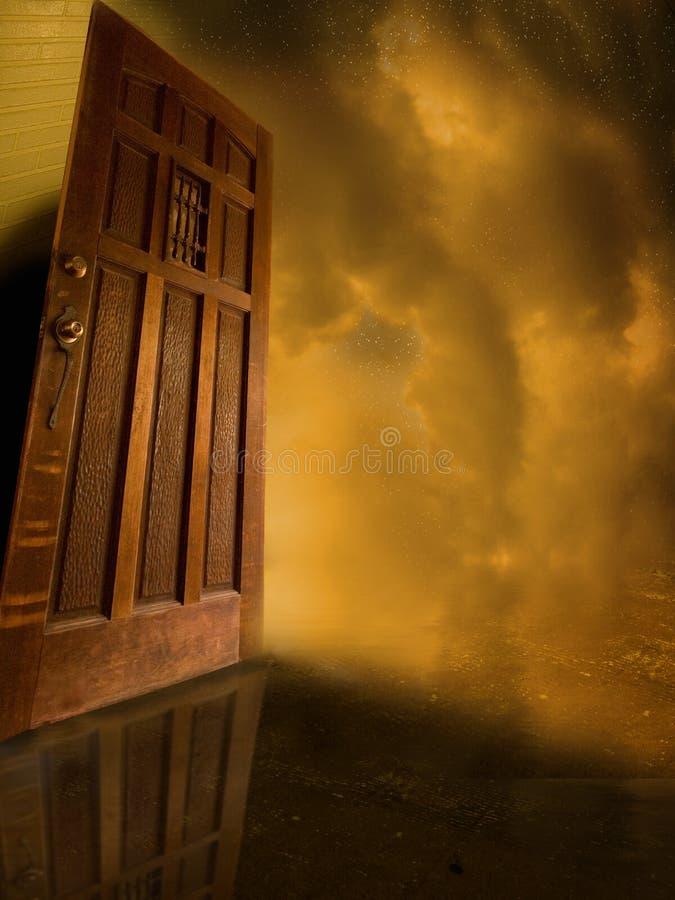 Tür geöffnet zum Geheimnis