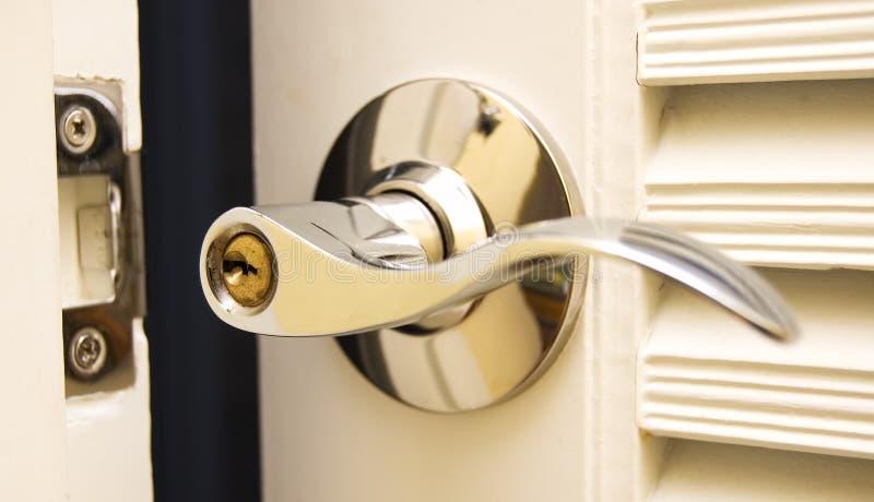 Tür-Griff stockbild