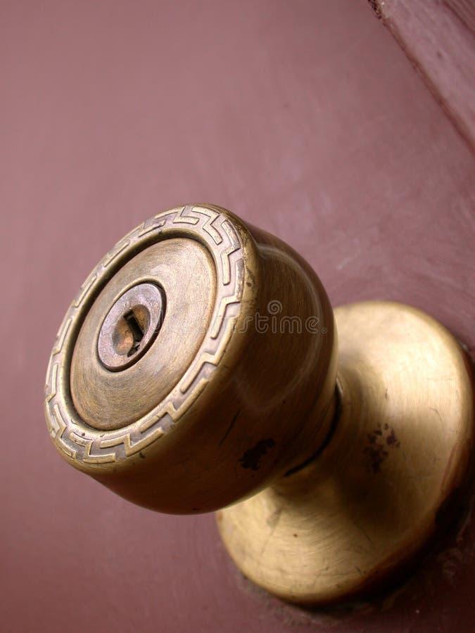 Download Tür-Knopf stockfoto. Bild von eintrag, bronze, messing, schlüsselloch - 44450