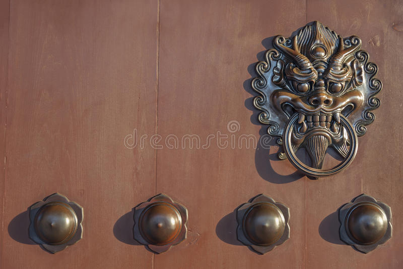 Tür-Knopf stockbilder