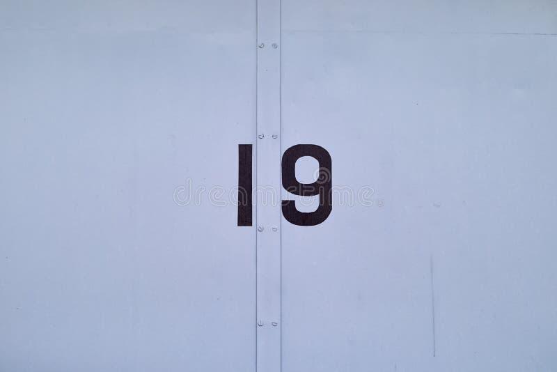 Tür Nr. 19 lizenzfreie stockfotografie