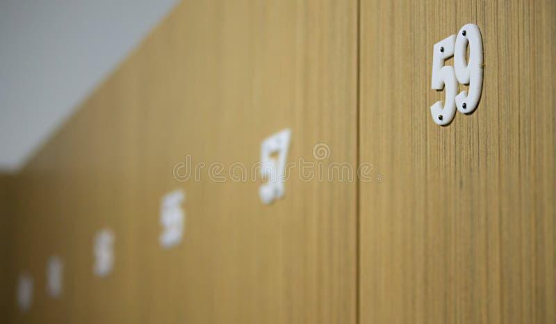 Tür Nr. neunundfünfzig stockfotografie