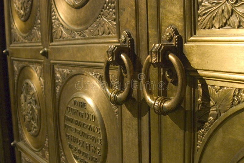 Tür-Ringe Lizenzfreies Stockfoto