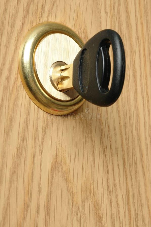 Tür-Verriegelung stockfotos