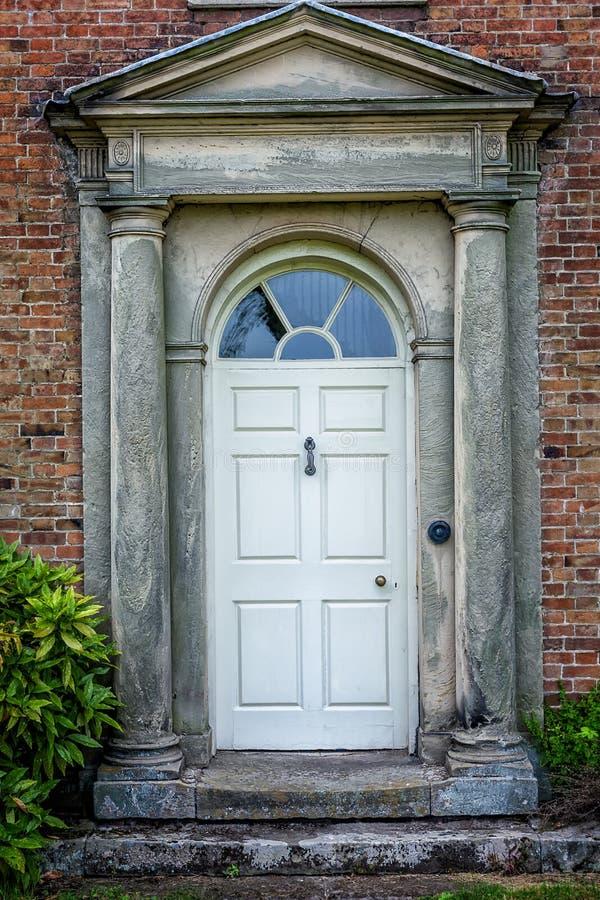 Tür-viktorianisches Haus lizenzfreie stockfotos