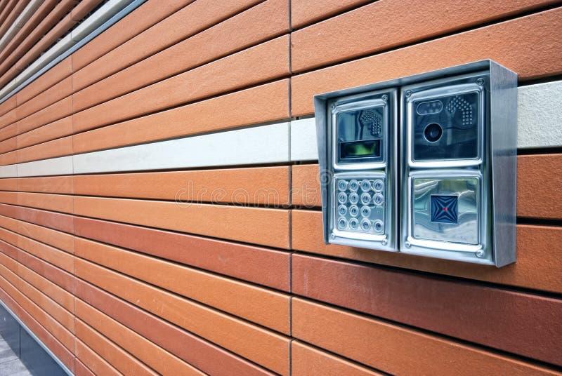 Tür-Wechselsprechanlage lizenzfreies stockfoto