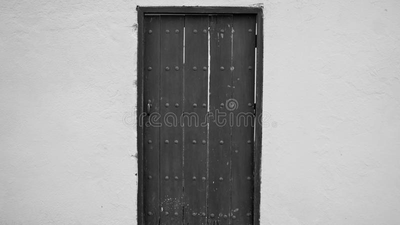 Tür zu Narnia stockbild
