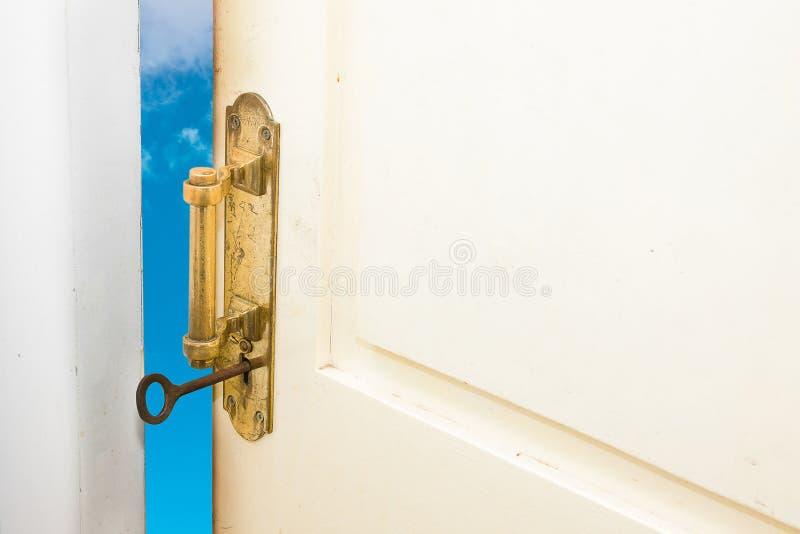Tür, zum des Lebens zu verbessern lizenzfreie stockfotografie