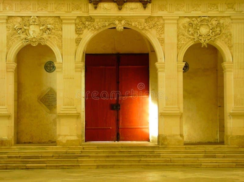 Tür zum Glauben stockbild