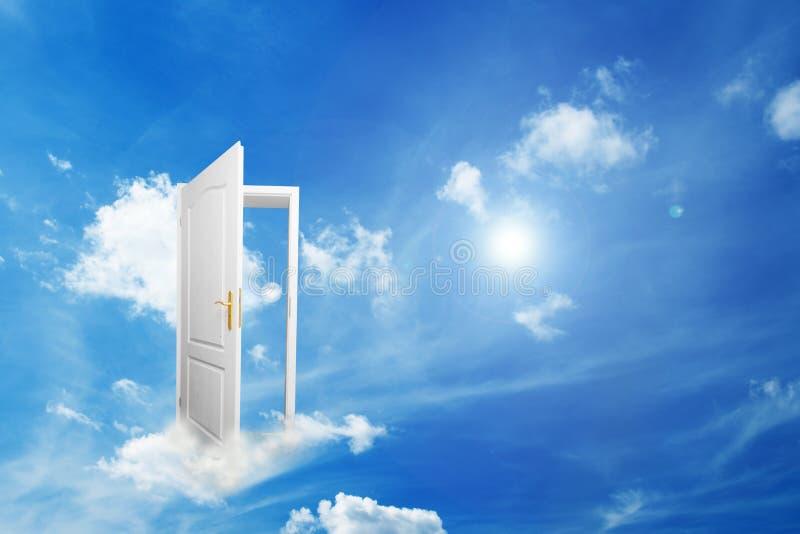 Tür zur neuen Welt. stockfoto