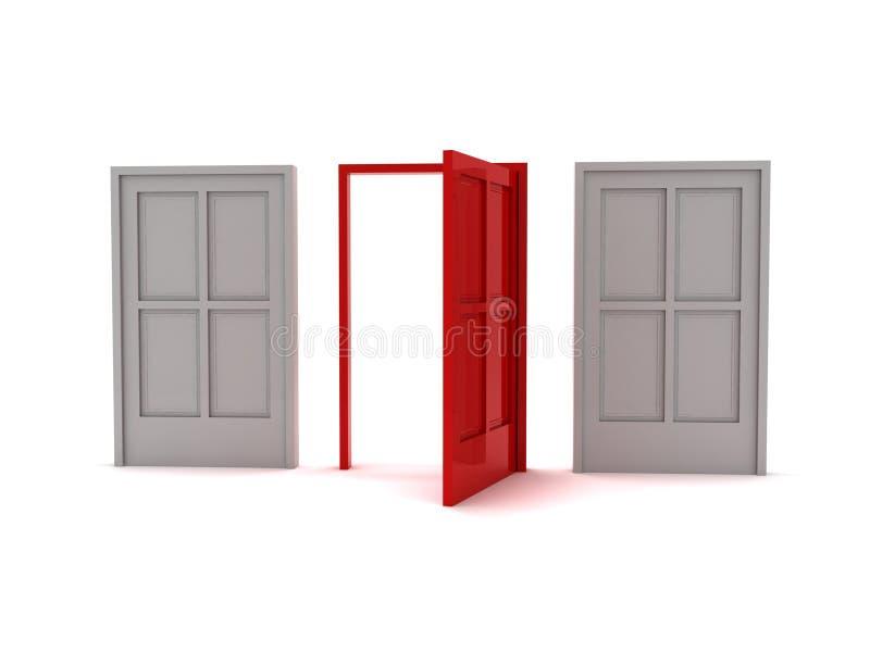Türen stock abbildung