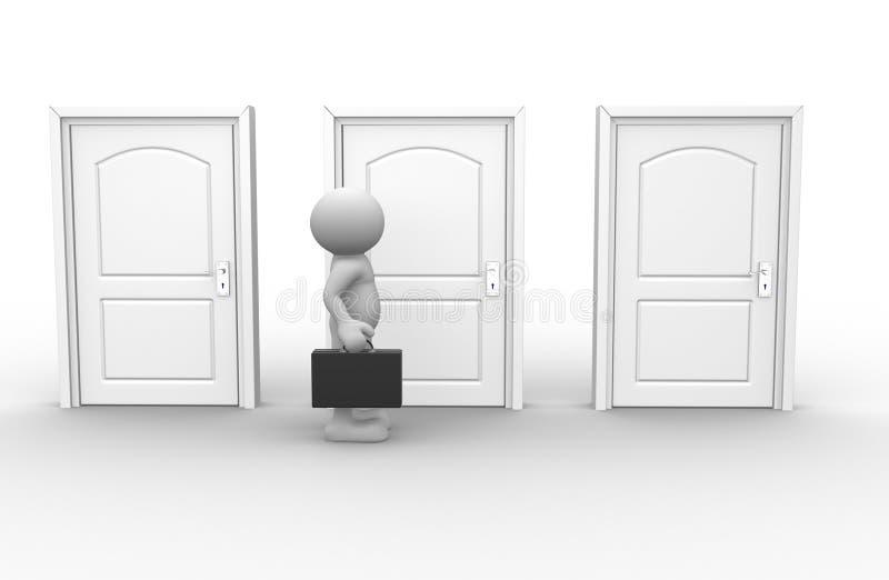 Türen vektor abbildung