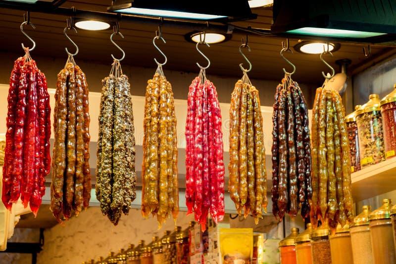 Türkische Artfrucht Trockenschnitzel als Imbiss lizenzfreies stockbild