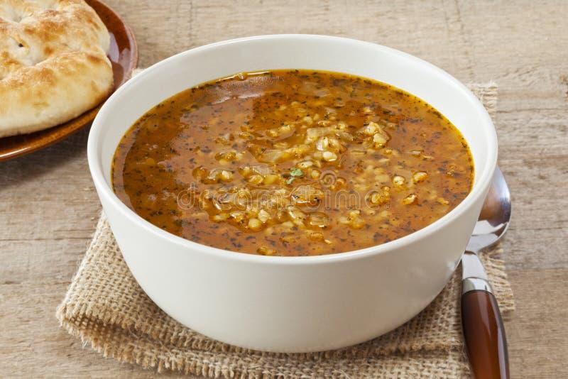 Türkische Braut-Suppe stockbild